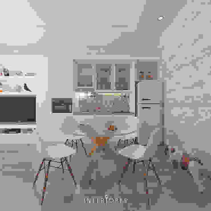 Scandinavian @ Pejaten Oleh INTERIORES - Interior Consultant & Build