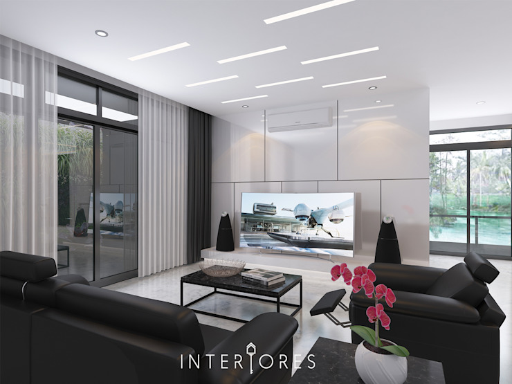 Sutera Onyx (Futuristic) Oleh INTERIORES - Interior Consultant & Build