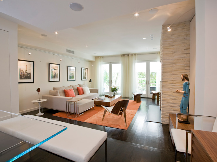 FORMA Design Inc. Modern living room