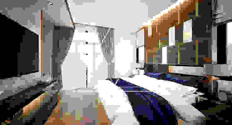 غرفة نوم تنفيذ pyh's interior design studio