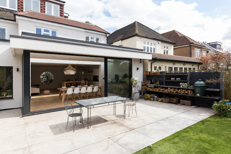Parke Rd Barnes:  Houses by VCDesign Architectural Services,