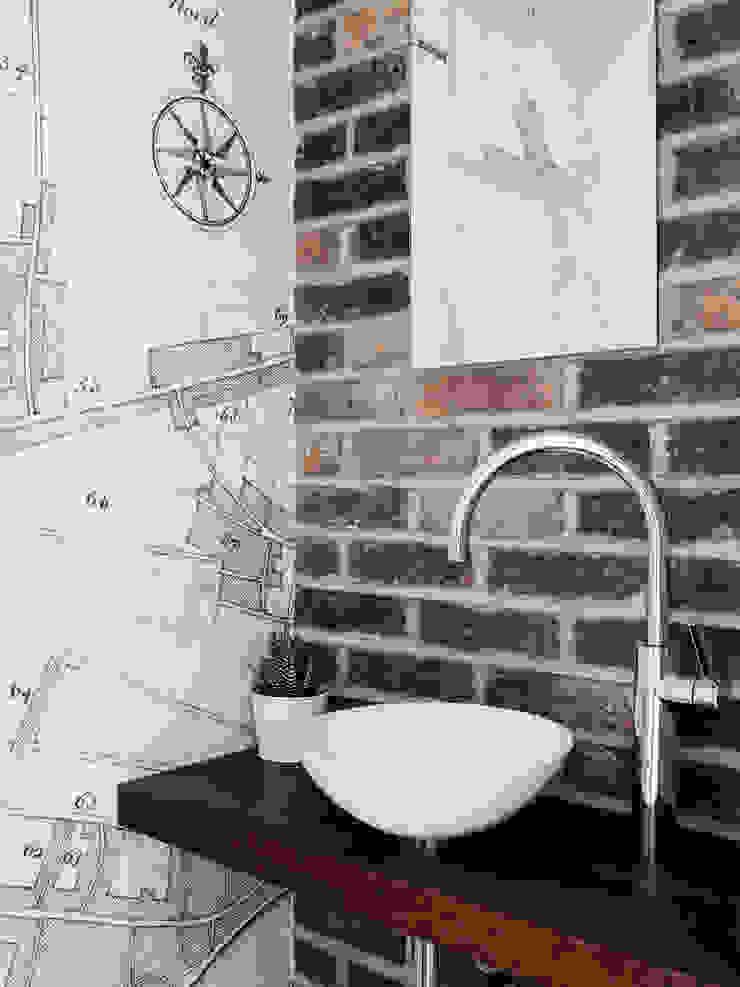 WC Baños de estilo moderno de Brosh Architects Moderno