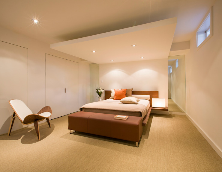 House in Potomac 2.0 Modern Bedroom by FORMA Design Inc. Modern