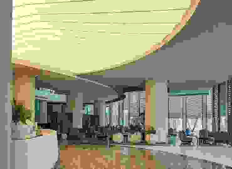 Sảnh tiếp tân Khách sạn Mường Thanh Phú Quốc bởi TRẦN XUYÊN SÁNG VẠN HOA Hiện đại