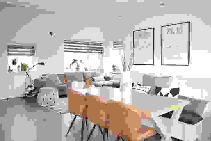 Appartement Katwijk Scandinavische woonkamers van CM Interieurarchitect Scandinavisch