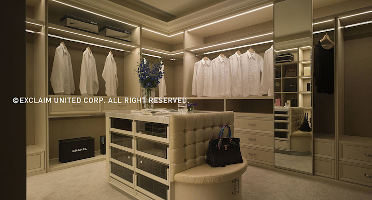 Modern dressing room by 京璽國際 Modern
