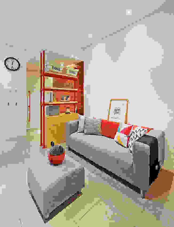 IDEO DESIGNWORK Industrial style living room
