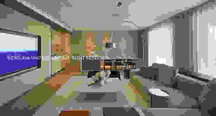 Modern Living Room by 京璽國際 Modern