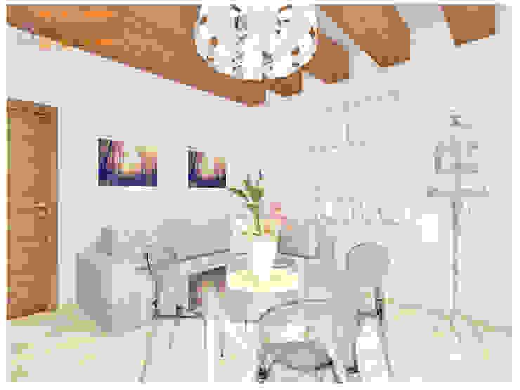 Tavolo Da Cucina Con Panca Angolare.Progettazione Bilocale Con Travi A Vista Di House Design