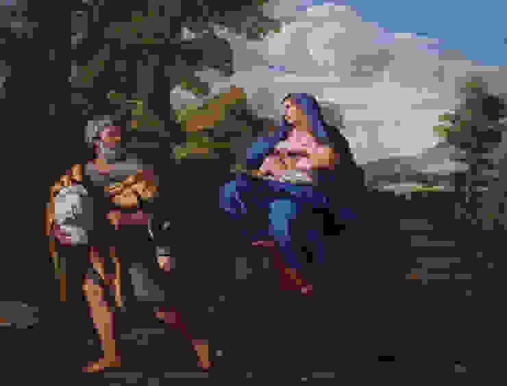 Restauration d'un tableau italien du 17ème Atelier Aldo Peaucelle - Art & Patrimoine Conseil ArtObjets d'art