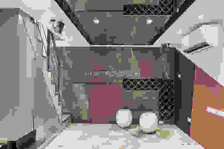 信義何公館 现代客厅設計點子、靈感 & 圖片 根據 VH INTERIOR DESIGN 現代風