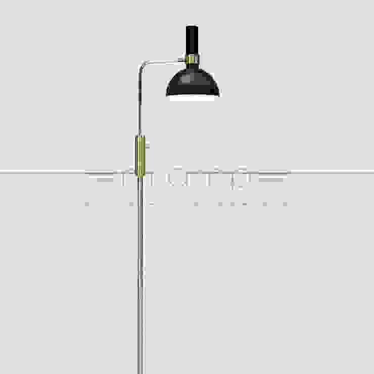 Lampa podłogowa LARRY od Mlamp Klasyczny Matal