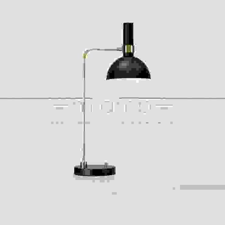Lampa stołowa LARRY od Mlamp Klasyczny Matal