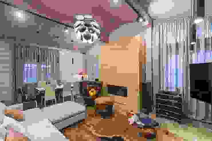 Ruang Keluarga Klasik Oleh GOOD WOOD Klasik