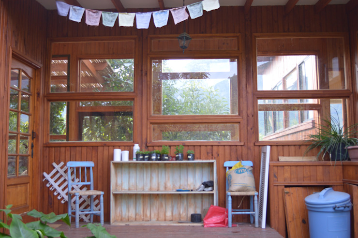 Casa Ecológica en Olmué: Casas de estilo  por Nido Arquitectos