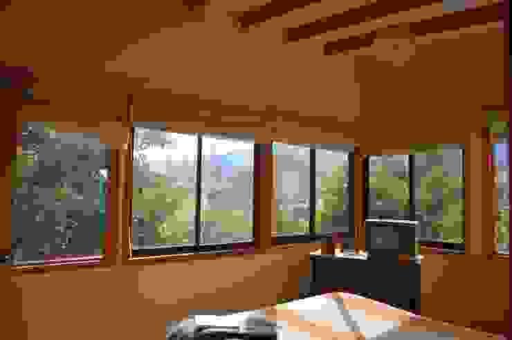Casa Ecológica en Olmué Dormitorios de estilo rústico de Nido Arquitectos Rústico