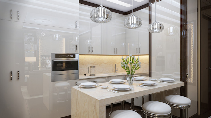 مطبخ تنفيذ Арт Реал Дизайн