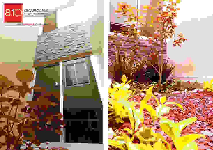 Jardines de estilo  por 810 Arquitectos,