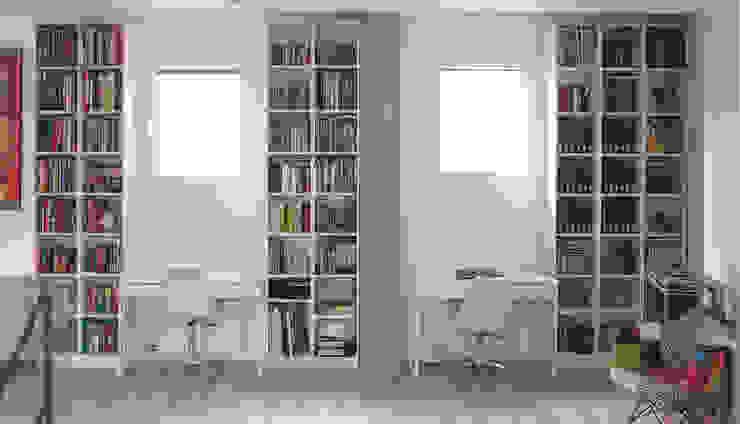 REFORMA DE UN DUPLEX Búho Arquitectos SLP Estudios y despachos de estilo minimalista