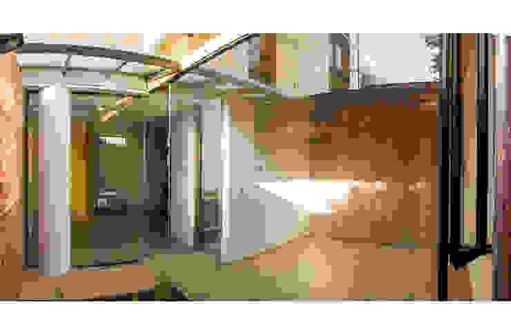 MULTIFAMILIAR INTERIOR 8 Jardines de estilo minimalista de ENSAMBLE de Arquitectura Integral Minimalista