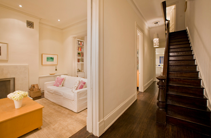 California Casual in Georgetown Modern Corridor, Hallway and Staircase by FORMA Design Inc. Modern