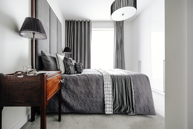 Master Bedroom Modern style bedroom by Katie Malik Interiors Modern