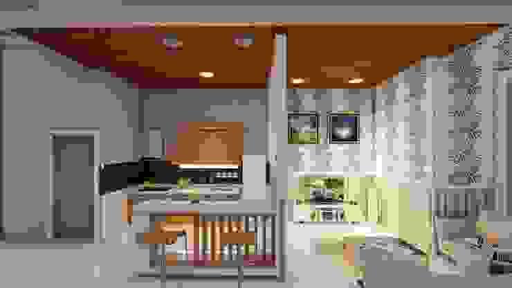 kitchen set Dapur Modern Oleh Ardha Design Modern