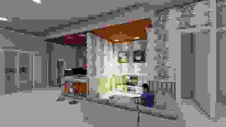 ruang keluarga Dapur Modern Oleh Ardha Design Modern