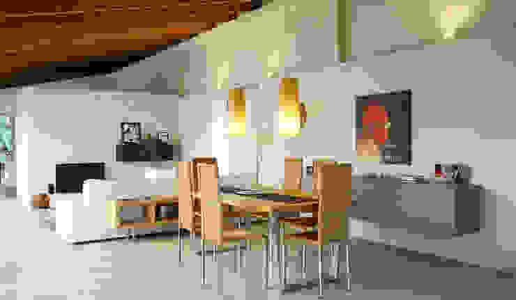 Luxury Sustainable Home | Santa Ana Costa Rica Aroma Italiano Eco Design Minimalist dining room