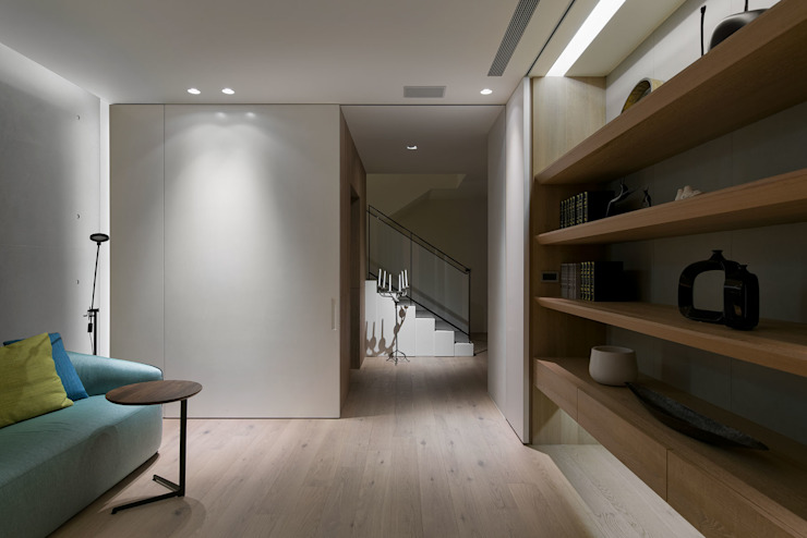 House D 鄧宅 根據 構築設計 現代風