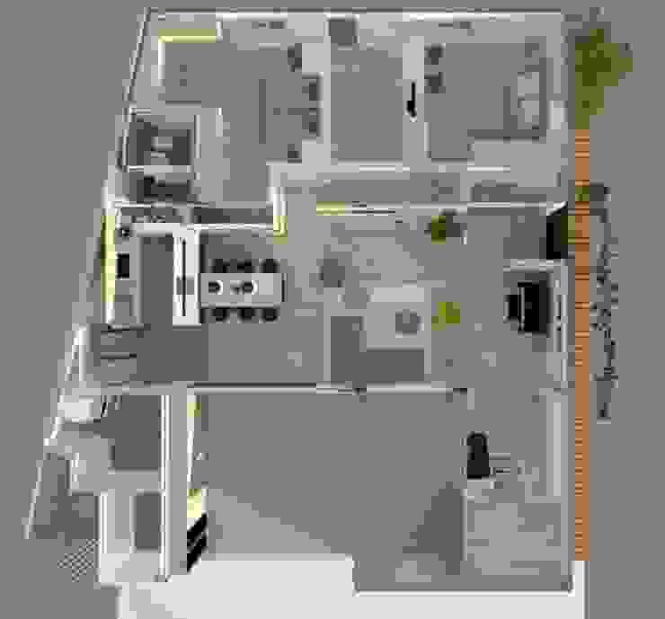 Weekend House 根據 構築設計 簡約風