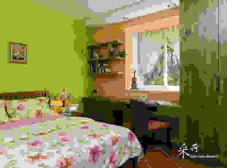 雙溪山居-鄉村風格:  國家  by 采荷設計(Color-Lotus Design), 鄉村風 木頭 Wood effect