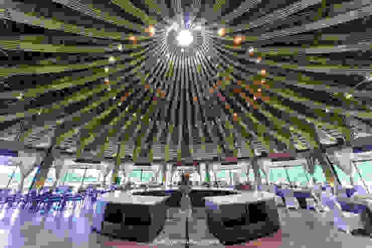 Nhà hàng tre Serena (Serena bamboo restaurant) bởi BAMBU Hiện đại