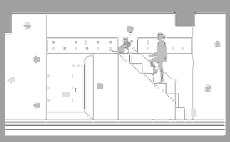 立面情境图,sketch 一葉藍朵設計家飾所 A Lentil Design