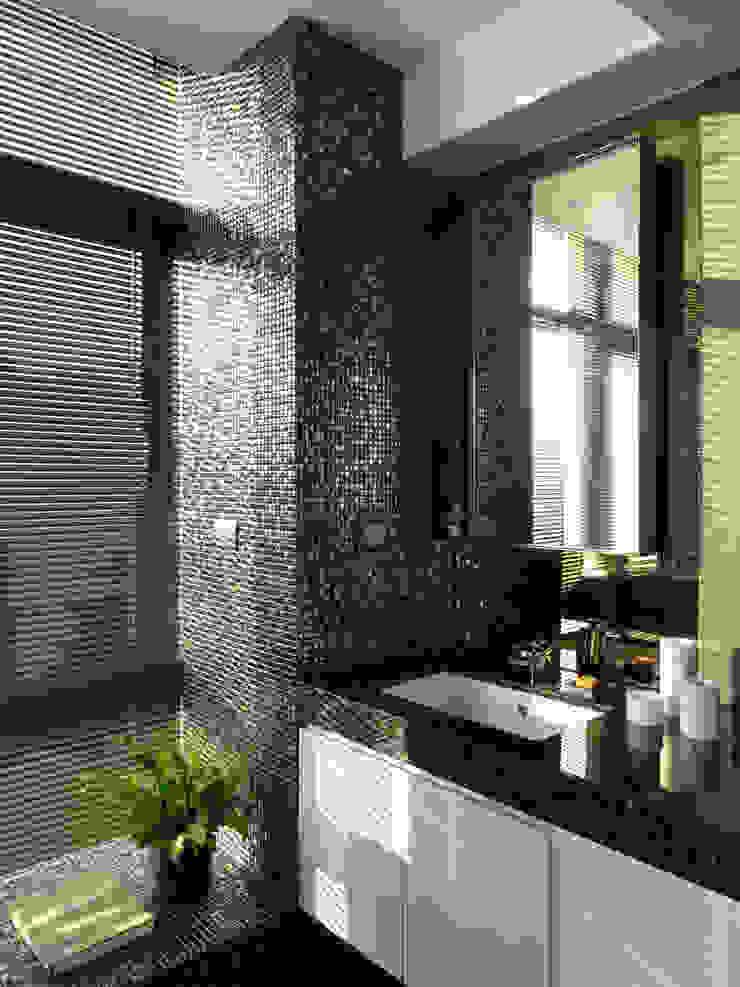 思路 延伸 Sense of Meditation 現代浴室設計點子、靈感&圖片 根據 禾築國際設計Herzu Interior Design 現代風