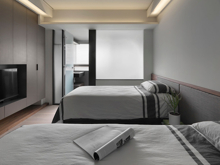 禾築國際設計Herzu Interior Design Modern style bedroom