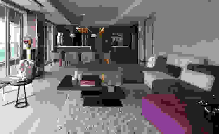 禾築國際設計Herzu Interior Design Вітальня