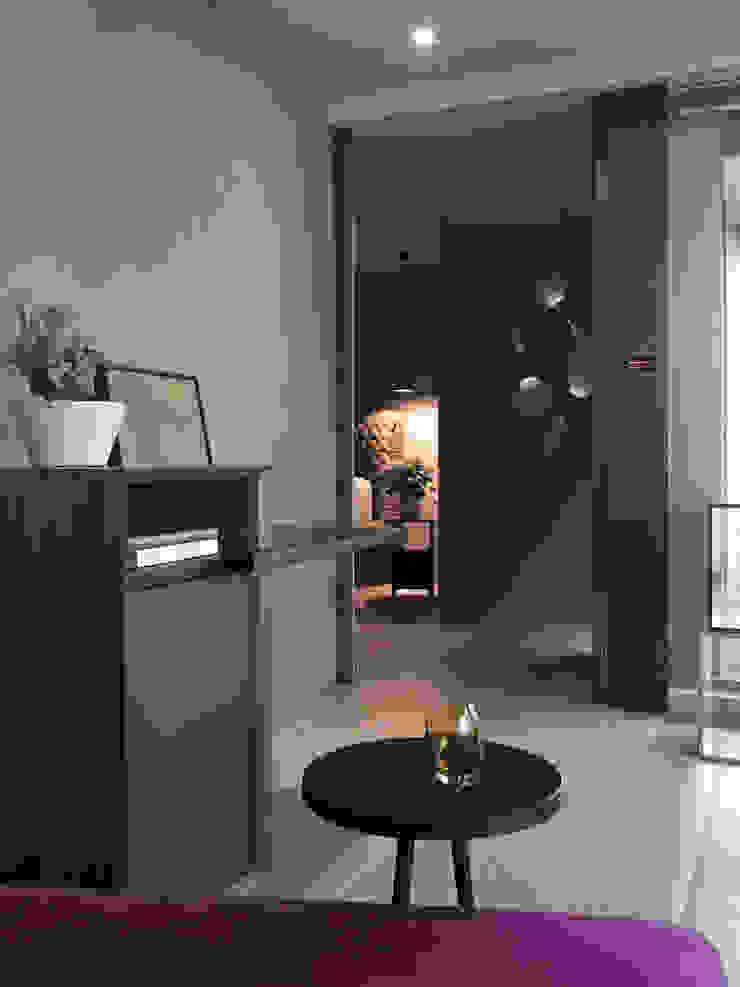 JJ HOUSE 現代風玄關、走廊與階梯 根據 禾築國際設計Herzu Interior Design 現代風