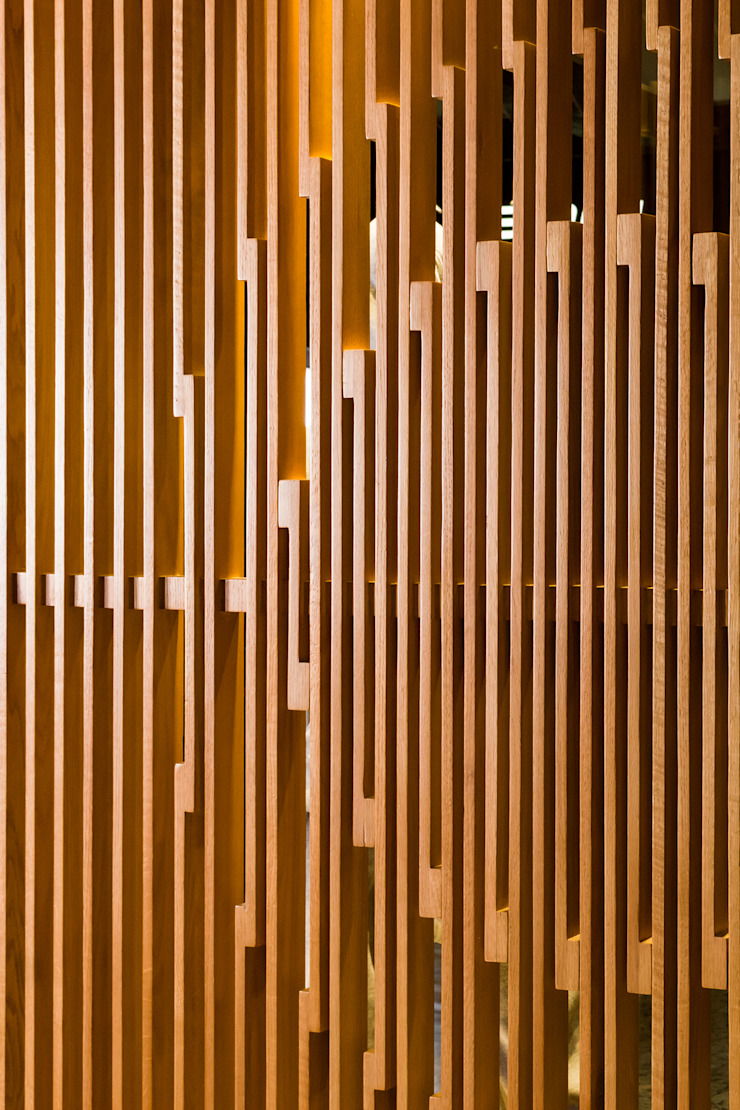 Snowpro—Mall of Egypt—Cairo—EGYPT Modern Walls and Floors by ENCODE STUDIO Modern Wood Wood effect