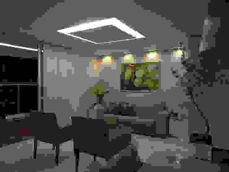 Modern living room by Maiara Viana Ateliê de Arquitetura Modern
