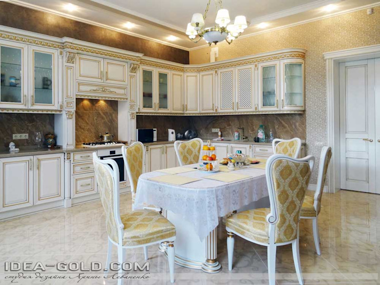 Дом в классике: Кухни в . Автор – Idea-Gold, Классический