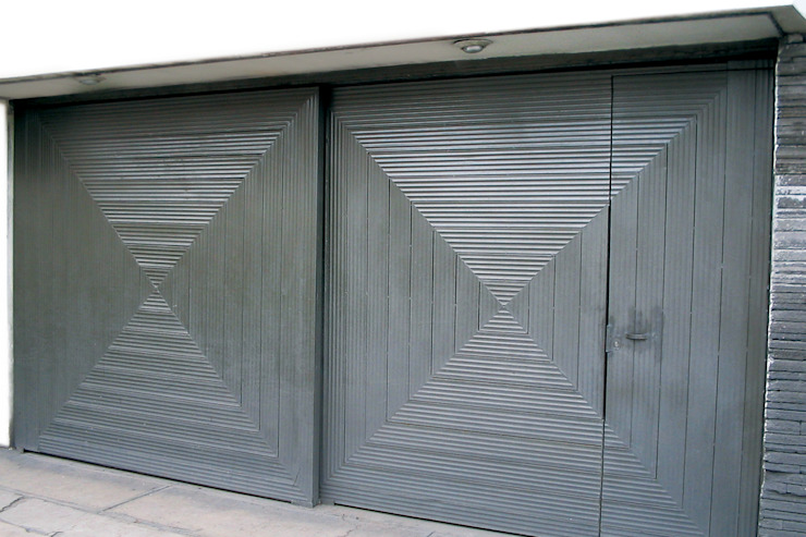 Lamitec SA de CV Garages & sheds Iron/Steel Grey