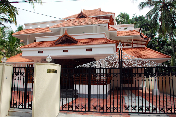 kerala projects Asian style house by Royal Designs Architects Asian