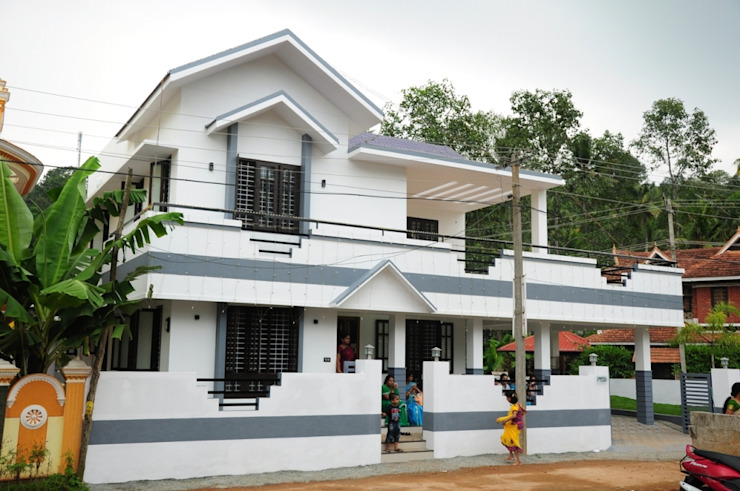 kerala projects Maisons asiatiques par Royal Designs Architects Asiatique