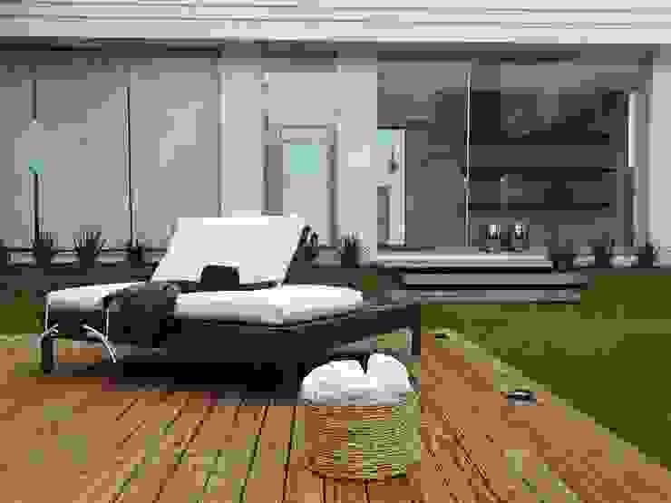 Jardin zen de style  par Fabiana Nishimura Arquitetura, Moderne