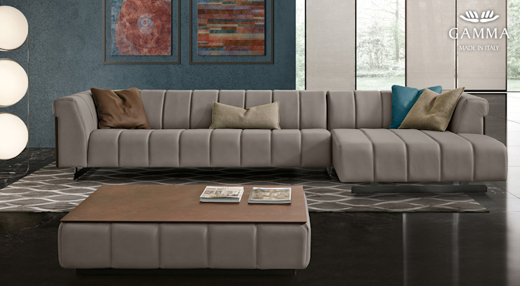 modern  by homify, Modern Leather Grey