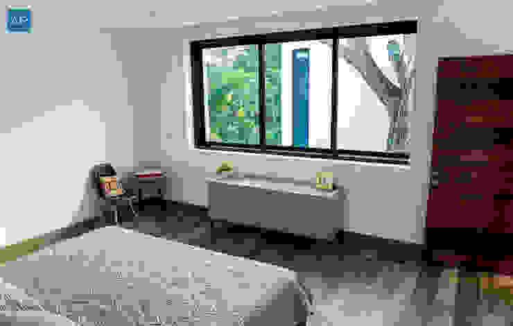 Modern style bedroom by TAM (Taller de Arquitectura Modular) Modern