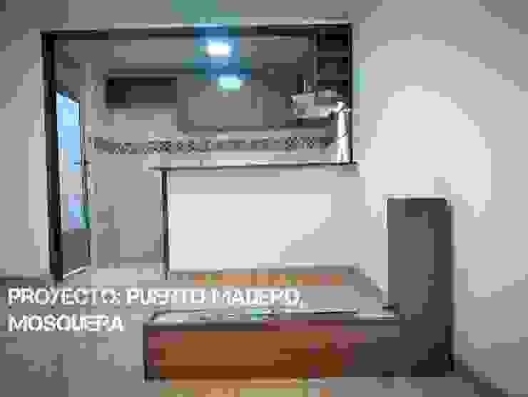 Casa Puerto Madero de Construcolmena SAS Moderno Aglomerado