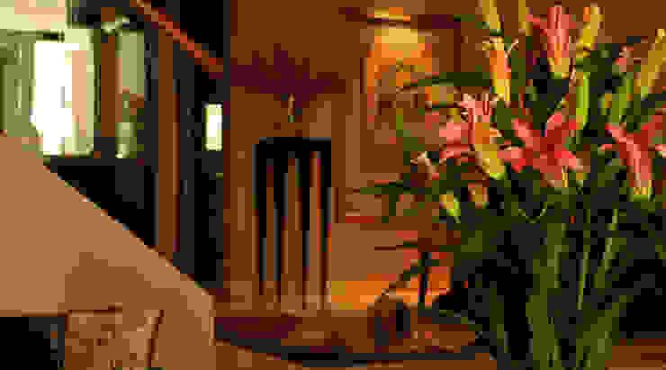 Asiatische Wohnzimmer von E&U Asiatisch Ziegel