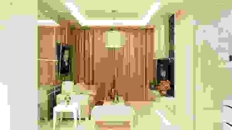 Living room design Ruang Keluarga Modern Oleh aidecore Modern Kayu Lapis